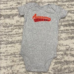"""(5/$20) """"Awesome Little Guy"""" Carters bodysuit"""